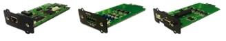 UPS MONOFASE ON LINE DOPPIA CONVERSIONE 6kVA – 10kVA serie NS LCD pf1 - COMMUNICATION INTERFACES